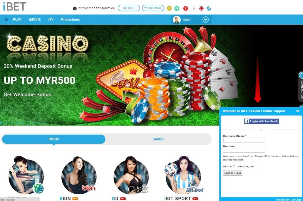 iBET Online Casino New Member Get RM10 Bonus Malaysia-3