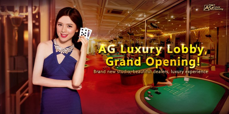 iBET iAG (asia Gaming) new released Pretty Dealers Luxury Lobby