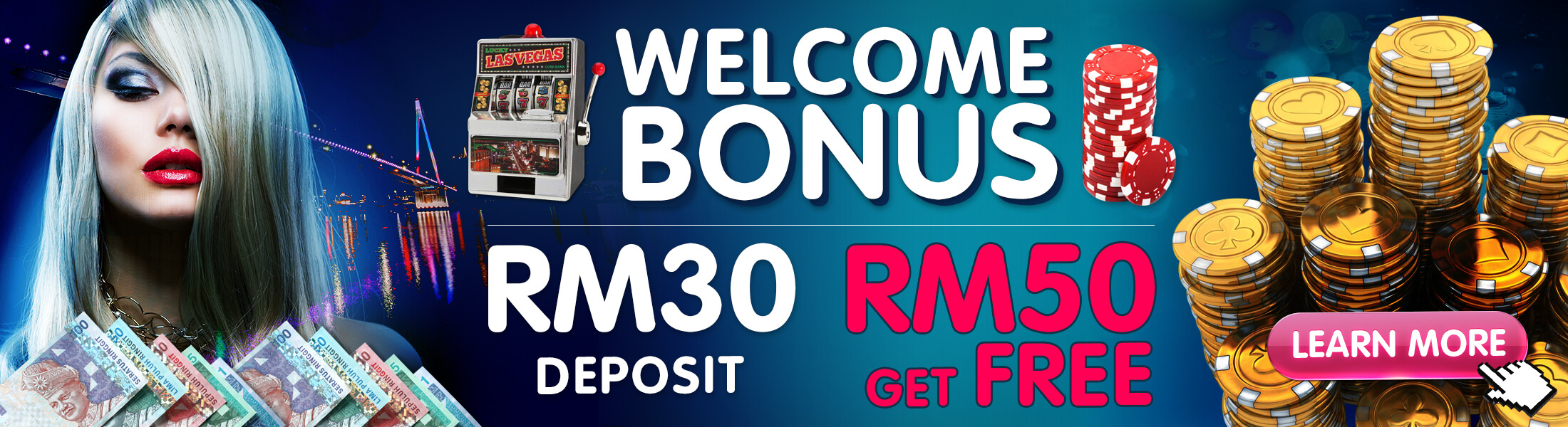 promotions welcome bonus match first time deposit terms conditions