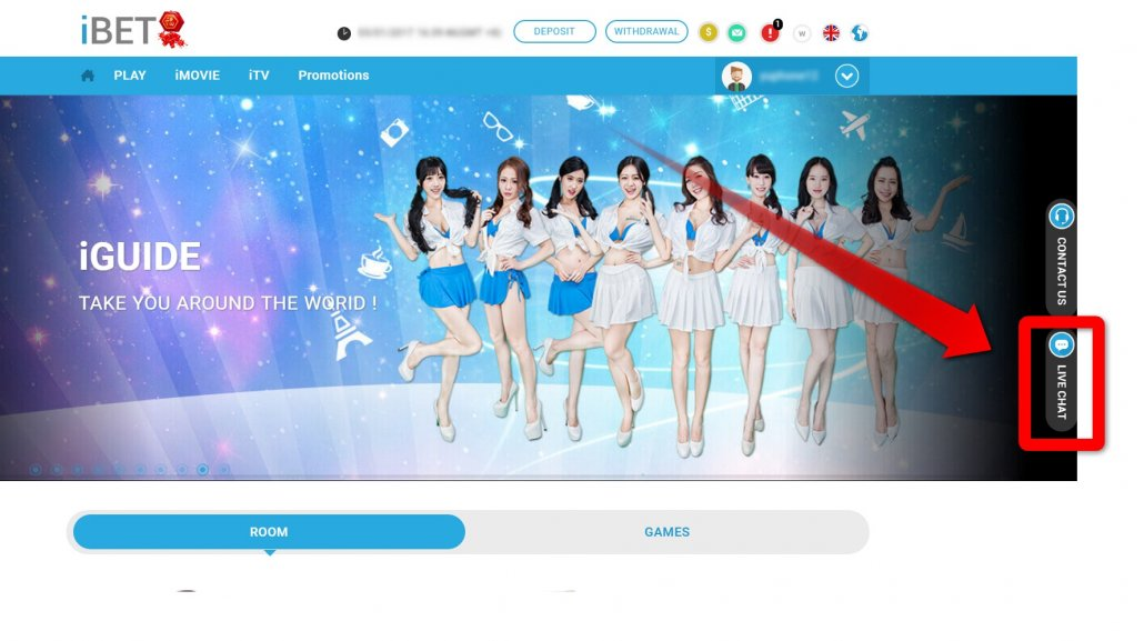 iBET Online Casino Malaysia New Member Verify Mobile Get Free Credit RM5
