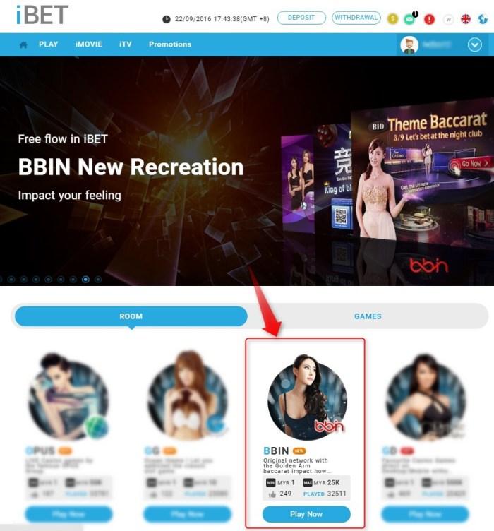iBET Online Casino Malaysia─BBIN Platform Information
