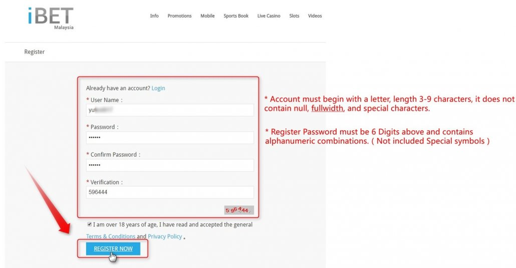 How to Get iBET AngPow Free Credit RM38 win 4D(4D Free