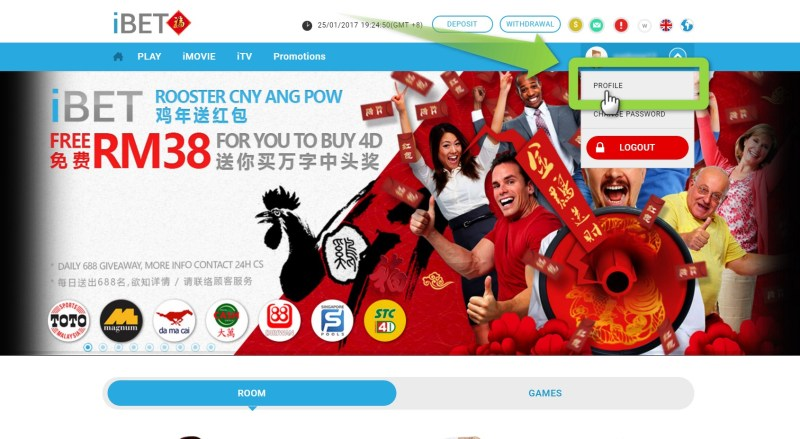 How to Get iBET AngPow Free Credit RM38 win 4D