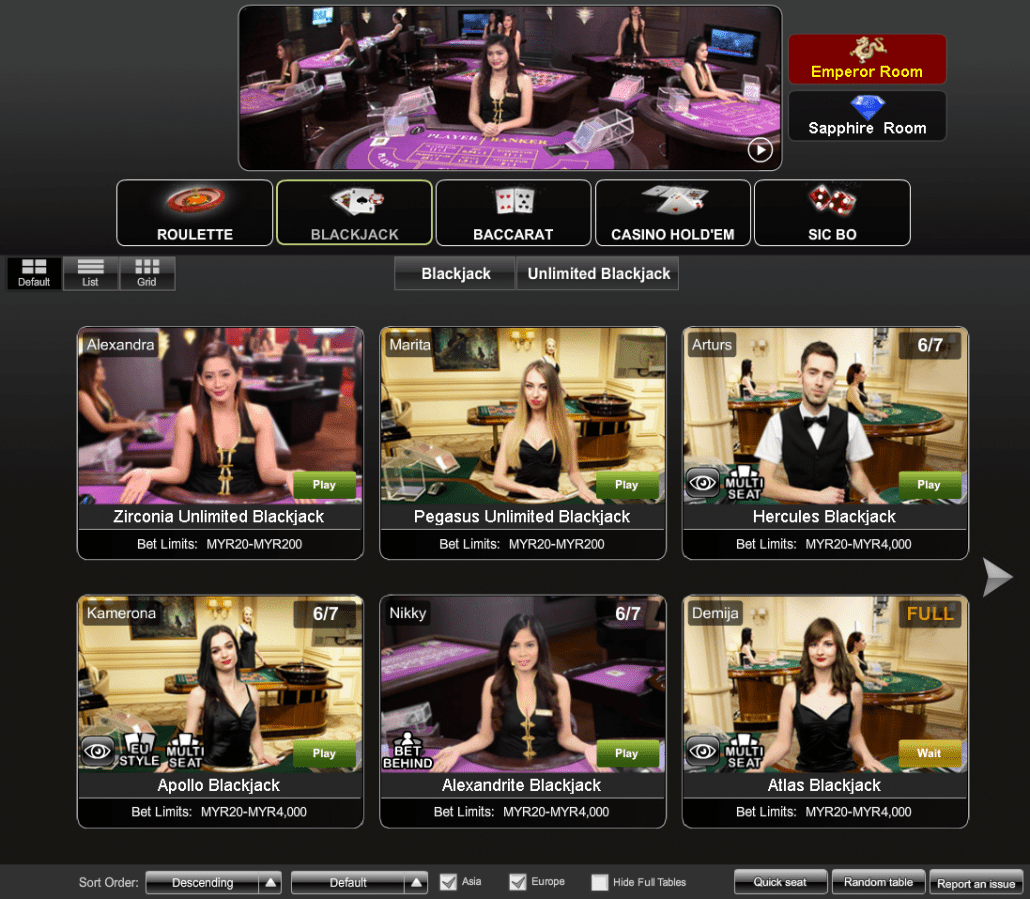 iBET Online Casino PT Platform live dealer game Introduction