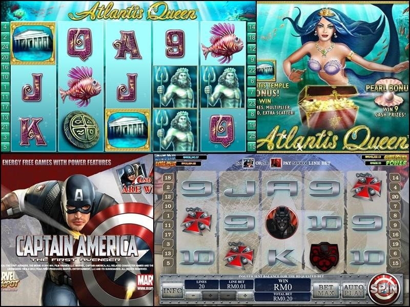 1.Each kinds of slot games for you to choose has colorful image and easy to operate, will make you can't let go of it!