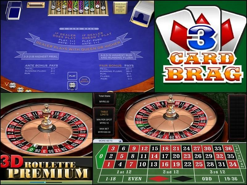 2.Baccarat, 3D roulette, bragging, blackjack, etc.,PT has everything what you want!