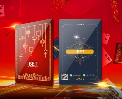 iBET Malaysia Poker Game Card Lucky Draw Giveaway