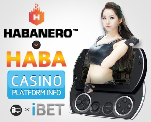 iBET Online Casino – HABA Game Room Information