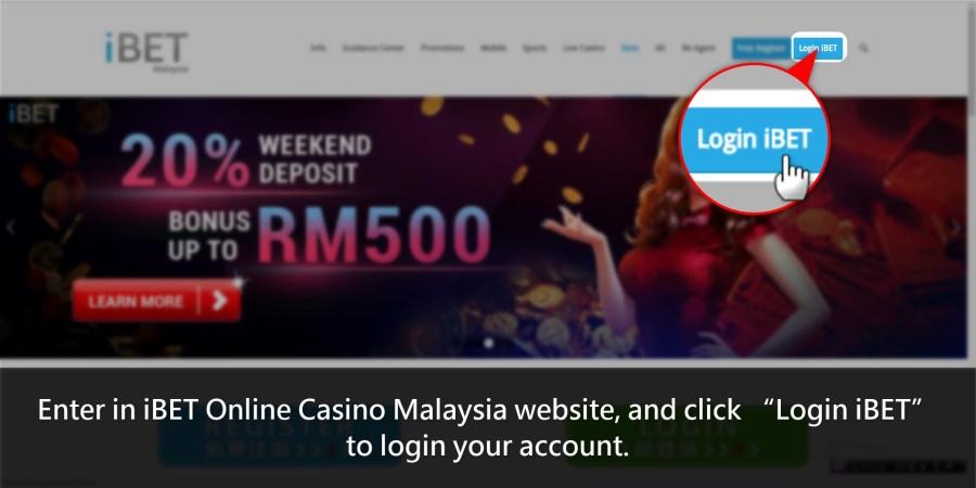 iBET Online Casino-Login iBET