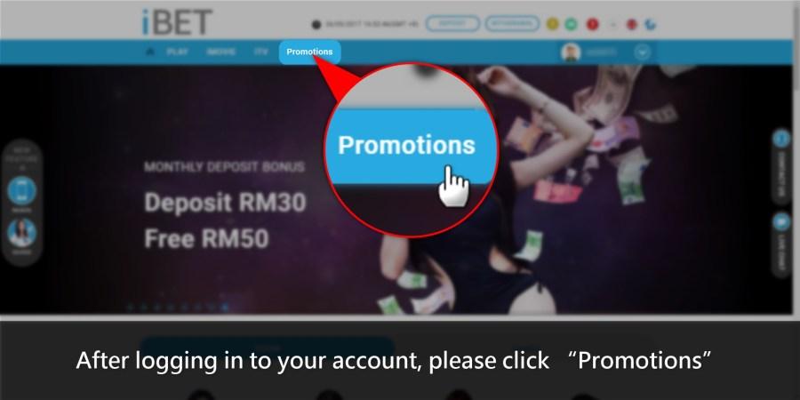 iBET Online Casino-iBET Promotions