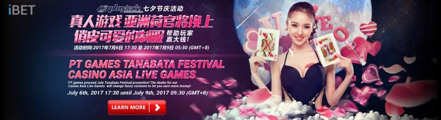 iBET Online Casino Malaysia - PT Casino Live Game Tanabata Festival