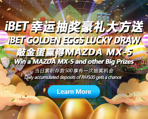 iBET Lucky Draw Crack The Golden Eggs and Win MAZDA MX-5-500x400