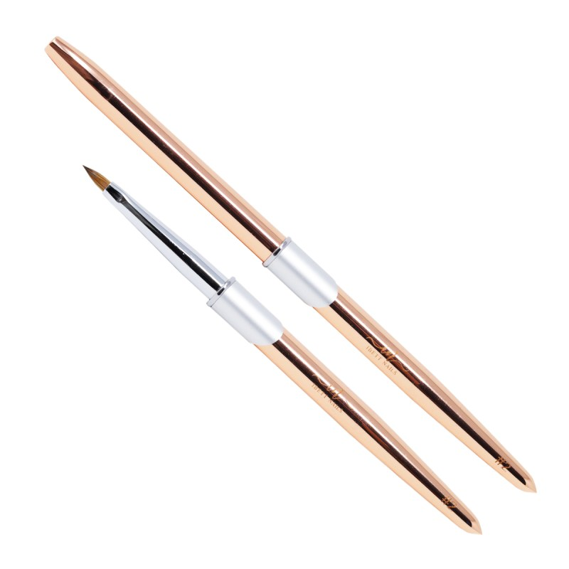 Kolinsky Brush #2 (Rose Gold)