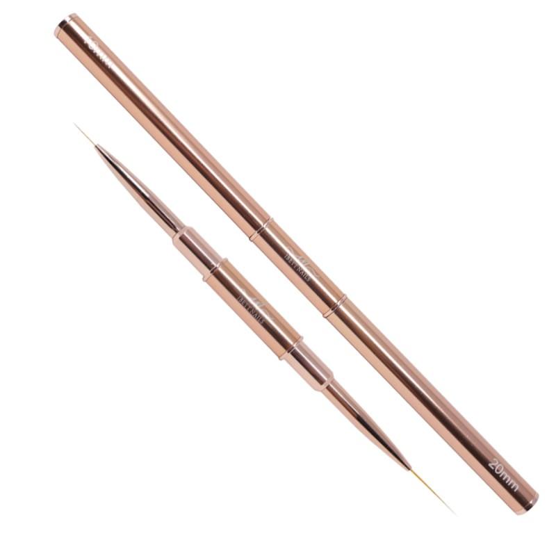 Double Liner Brush 10+20 mm (Rose Gold)