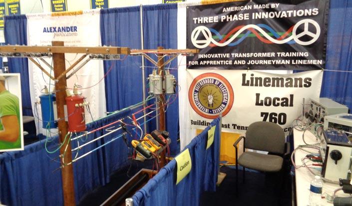 NTI Trade Show Booth