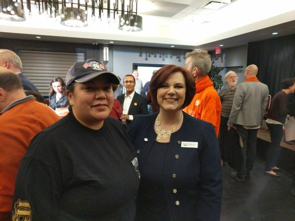 Angeline Camille and Barb Nederpel