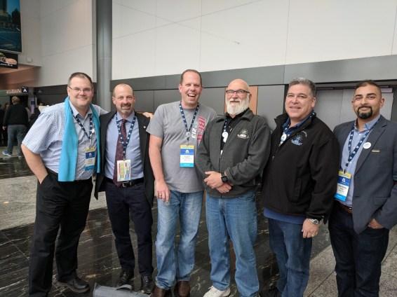 Darryl Schmidt, Laird Cronk, Adam Van Steinburg, Glen Hilton, Jim Lofty, Mandeep Saggu