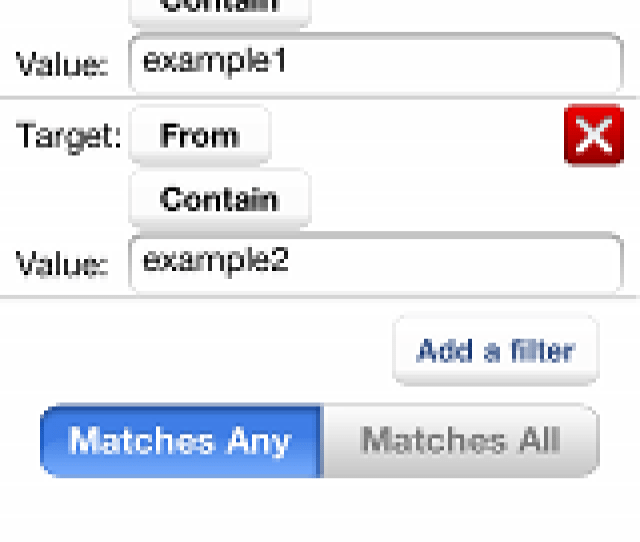 In This Page You Can Not Only Add A Filtering Conditions But Also Edit Existing Filtering Condition