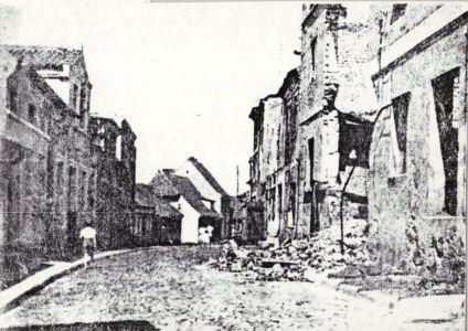 ul. Szpitalna po wojnie