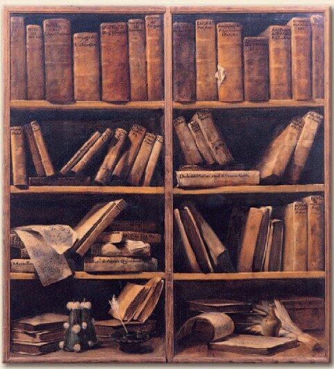 due_sportelli_di_libreria_con_scaffali_di_libri_di_musica-2670819