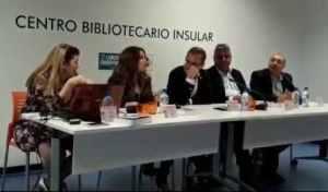 Charla de la escritora Ibiza Melián titulada «Las dos Españas»