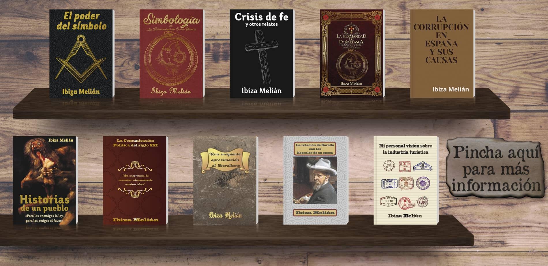 Libros de la escritora Ibiza Melián