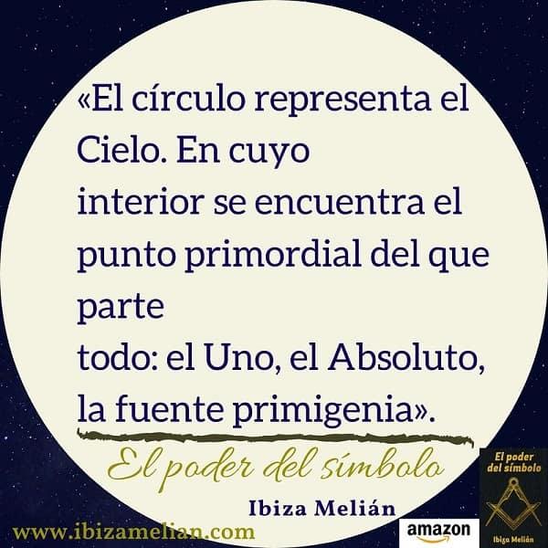 Frase de la escritora Ibiza Melián sobre el círculo