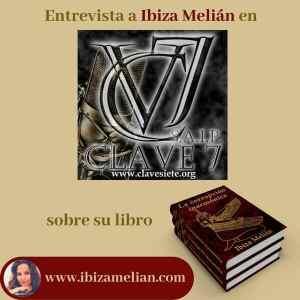 Entrevista a la escritora Ibiza Melián en Clave7