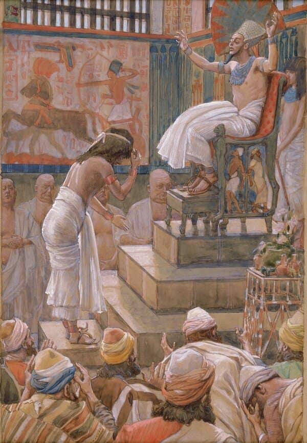 Los israelitas en Egipto