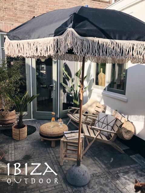 Ibiza Outdoor  Teaktafels buitentafels lounge stoelen