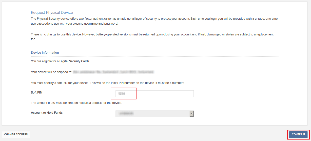 How to request a Digital Security Card+ (DSC+) replacement