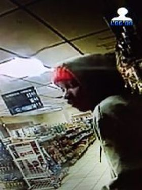 A suspect in the killing of a 91-year-old Detroit man is shown buying gasoline at a service station. (Photo: Detroit Police)