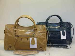 Balenciaga Premium 084332 Apricot-Blue 38x24x14 Rp.750