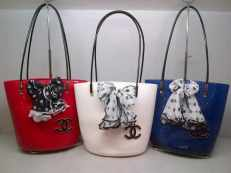 CHANEL JELLY TAKUNG RED-WHITE-BLUE 225rb
