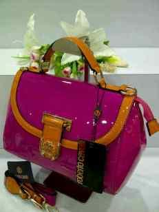 E00 Roberto Cavalli 0018 Pink Fanta Glossy SemSup 28x15x21