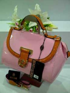 E00 Roberto Cavalli 0018 Pink Glossy SemSup 28x15x21