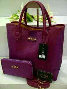 ED0 Furla Maribel Gliter Set 966 Purple SemSup 30x15x28
