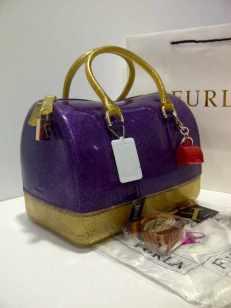 furla glitter 2 tones Gold+purple (doo)