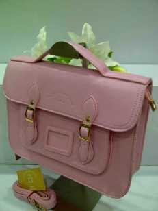 WX0 Cambridge Satchel 1211 Pink SemSup 30x9x22