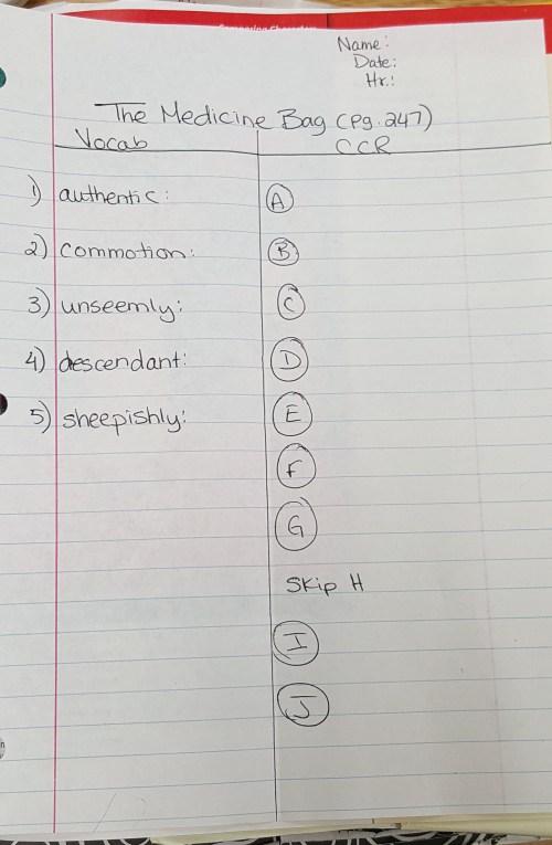 small resolution of 8th Grade ELA – Mrs. Issa's Language Arts