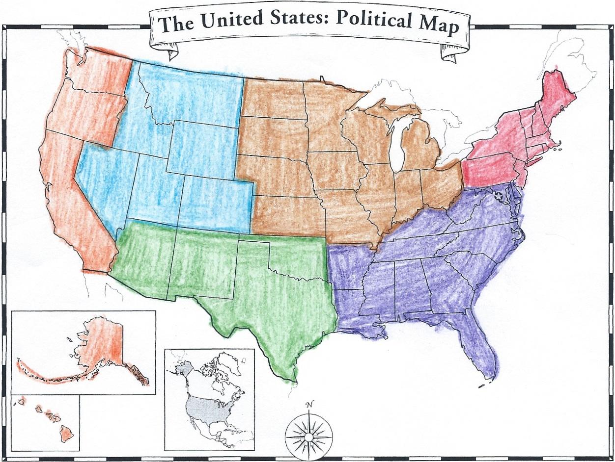 World Map Quiz Regions Choice Image