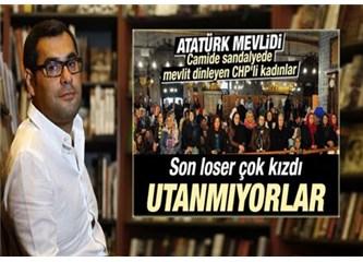 CHP'nin Atatürk'e mevlit okutmasını eleştiren Enver Aysever'e cevap