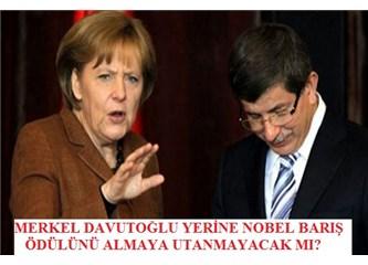 Türkiye 3 milyon, Almanya 20 bin mülteci alıyor! Nobel barış ödülü Merkel'e gidiyor!