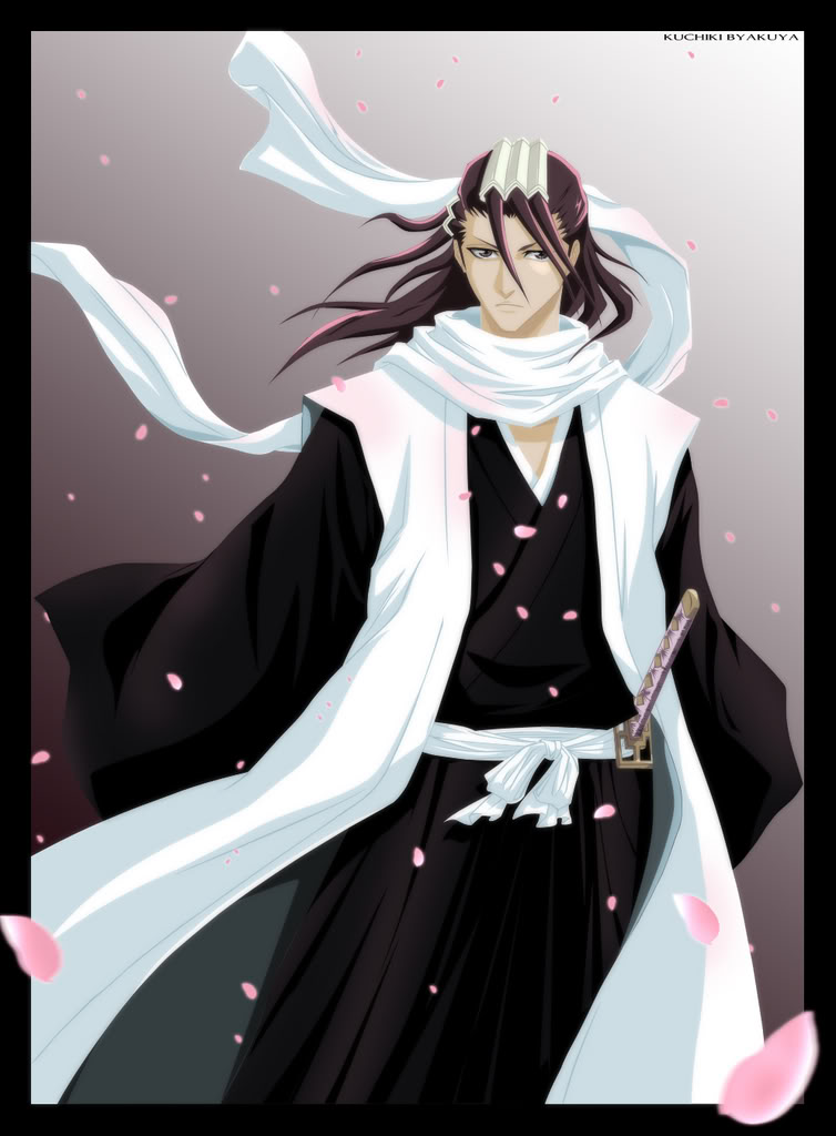 Kuchiki Byakuya - Captain of the 6th Division