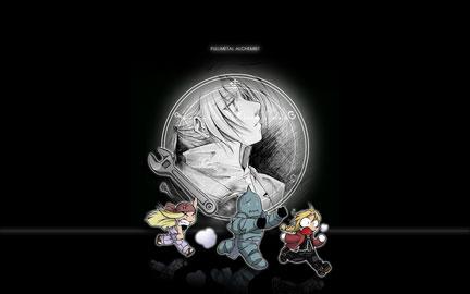 Winry, Alphonse and Edward