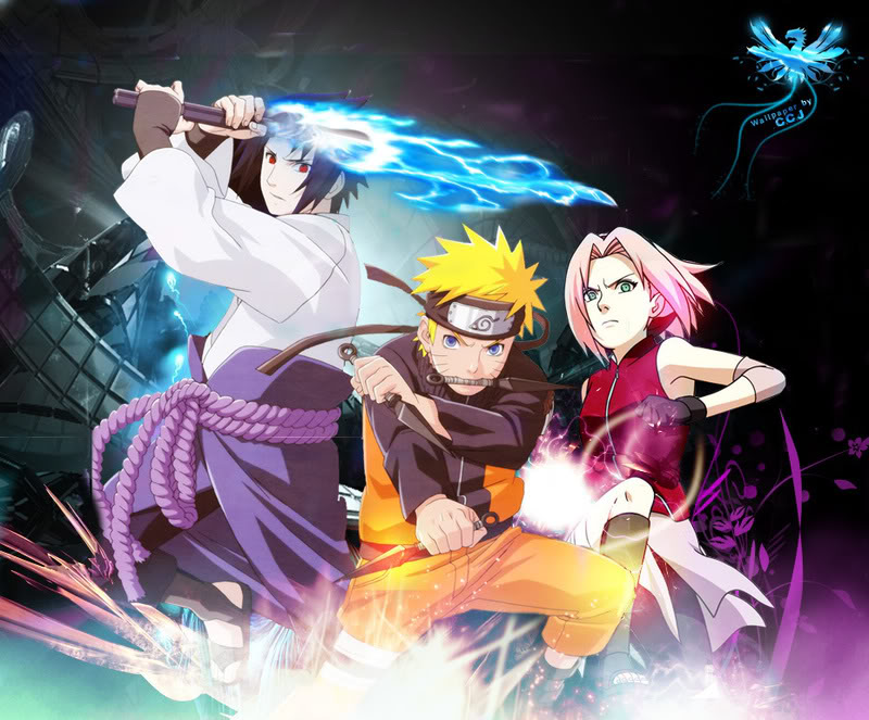 Naruto Old Team 7