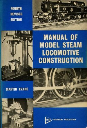 Manual of Model Steam Locomotive Construction  IBLS