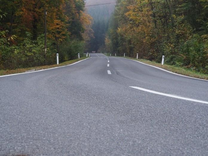 curva carretera