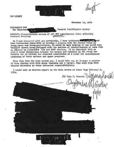 JFK papeles