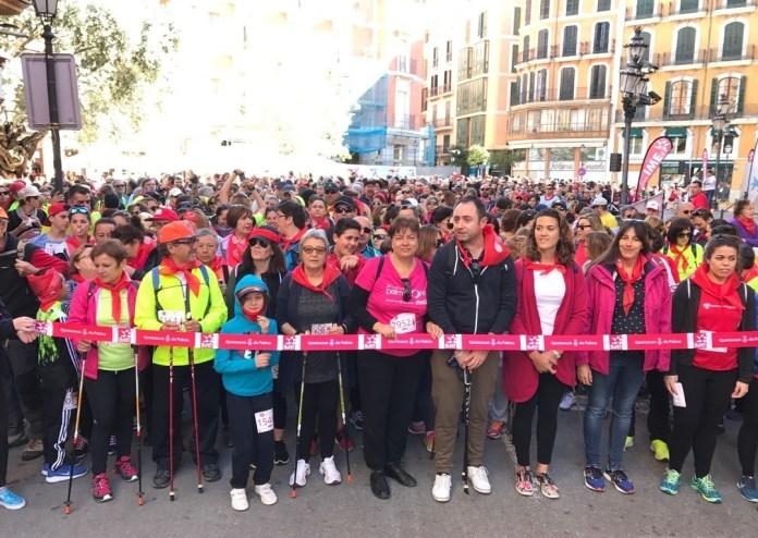 III Marcha por la Igualdad Nordic Walking de Palma